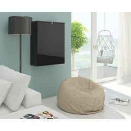 PC stolek - WIP - Hide černá + lesk černý