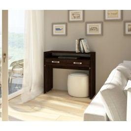 PC stolek - WIP - Zoom dub sonoma tmavý
