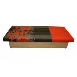 Jednolůžková postel (válenda) 80 cm - WIP-GK - Aga (s matrací)