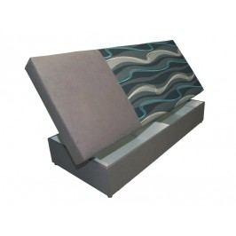 Jednolůžková postel (válenda) 80 cm - WIP-GK - Iza (s matrací)