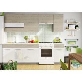 Kuchyně Mia 240 picard/bílý lesk