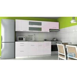 Kuchyňská linka Emilia 180/240 bílá vysoký lesk