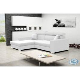 Rohová sedací souprava Mexico de Lux bílá