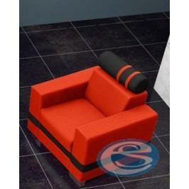 Křeslo R1 oranžovo-černé