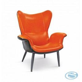Relaxační křeslo Pegas-M oranžové - HALMAR
