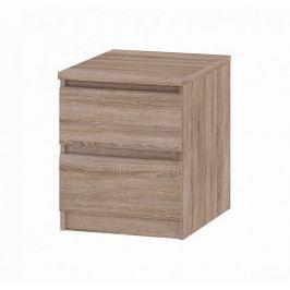 Noční stolek Naia 71069 lanýž - TVILUM