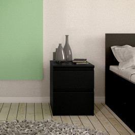 Noční stolek Naia 71069 černý mat - TVILUM