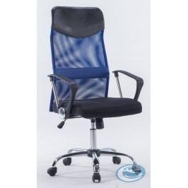 Kancelářské křeslo W 1007 Prezident modrá