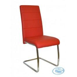 Jídelní židle Y100 červená
