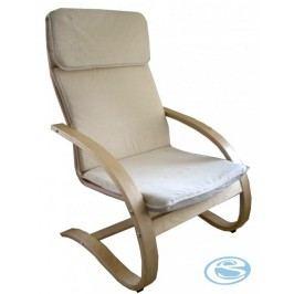 Relaxační křeslo houpací Aly R03 béžová