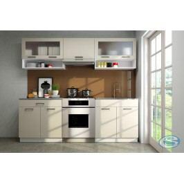 Kuchyňská linka Valerie 220/160 vysoký lesk