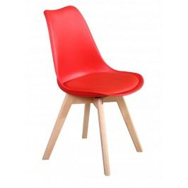 Jídelní židle PP-26 červená