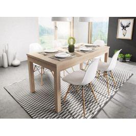 Rozkládací jídelní stůl Axel 120x80 dub sonoma - FALCO