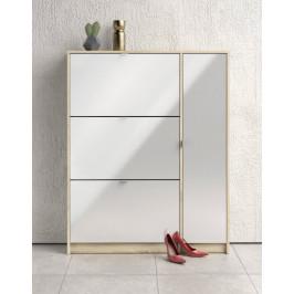 Botník Shoes 59008 dub sonoma/bílý lesk - TVI