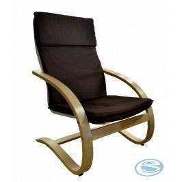 Relaxační křeslo houpací Aly R03 hnědá - FALCO