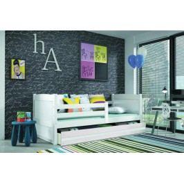Dětská postel Rico 90x200 cm bílá - BMS