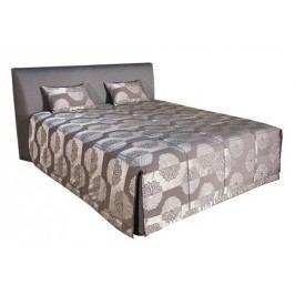 Čalouněná postel Evita 160x200 Eleganz hnědá - BLANAŘ