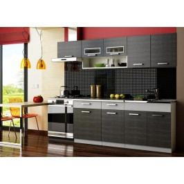 Kuchyňská linka Moreno 180/240 grafit bis - FALCO