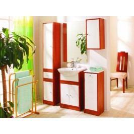 Koupelnová sestava Selena hrušeň/bílý lesk - STOLKAR