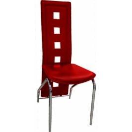 Jídelní židle H-66 vínová