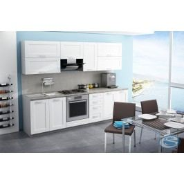 Kuchyňská linka Wenus 09 260 cm bílá
