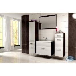 Koupelnový nábytek Evo wenge/bílý lesk