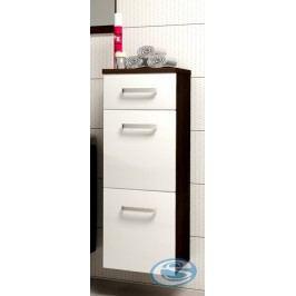 Koupelnová skříňka Evo wenge/bílý lesk