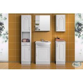 Koupelnový nábytek Nancy MDF bílá/tulipán