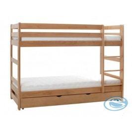 Dětská dřevěná patrová postel Twins plus - GABI