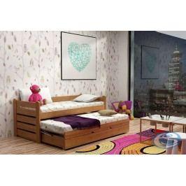 Dětská rozkládací dřevěná postel For 2 PLUS - GABI