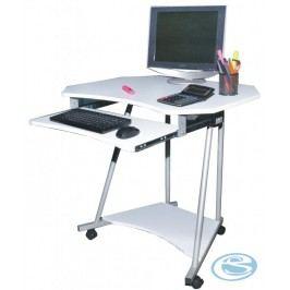 Pc stůl CT-2612 bílý