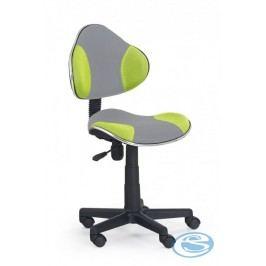 Dětská židle Flash Q-G2 šedo-zelená