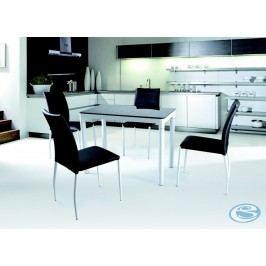 Jídelní stůl Argus černobílý - HALMAR