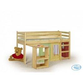 Dětská postel Emi borovice - HALMAR