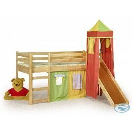 Dětská postel Flo borovice - HALMAR