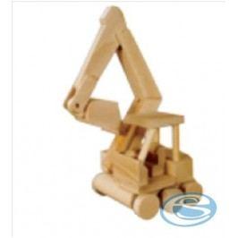 Dřevěná hračka bagr AD115 -