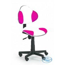 Dětská židle Flash Q-G2 bílo-růžová
