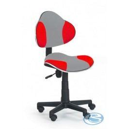 Dětská židle Flash Q-G2 šedo-červená