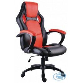 Kancelářské křeslo Lotus černo-červené - HALMAR
