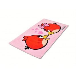 Jerry Fabrics Halantex Osuška Angry Birds Love 70 x 140 cm