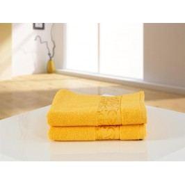 B.E.S. Petrovice ručník froté 50x100 FUN exclusive žlutá
