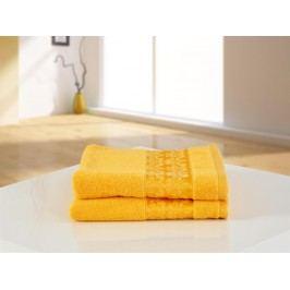 B.E.S. Petrovice ručník froté 50x100 ORIENTAL exclusive žlutá oriental exclusive