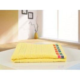 B.E.S. Petrovice osuška froté 70x130 Color Mozaik Světle žlutá
