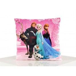 Jerry Fabrics JerryFabrics Polštářek 40x40 Frozen Pink