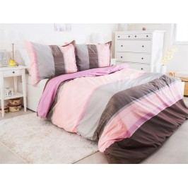 B.E.S. Petrovice Povlečení Bavlna Renforce TOP CLASS Pink 140 x 200 70x90