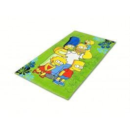 Jerry Fabrics Osuška 70x140 Simpsons Family 2016