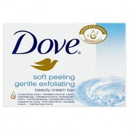 Dove Soft Peeling Gentle Exfoliating peelingová krémová tableta na mytí 100 g
