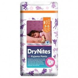 HUGGIES® DryNites plenkové kalhotky pro dívky 3-5 let 10 ks