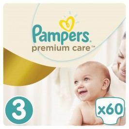 Pampers Premium Care pleny 3 Midi, 5-9 kg 60 ks