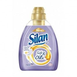 Silan aviváž Soft&Oils Purple, 30 praní 750 ml